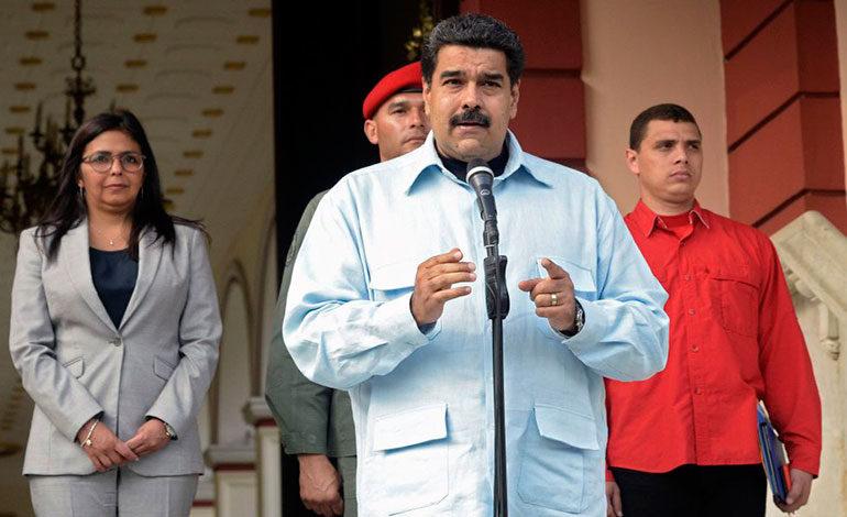 Maduro anuncia expulsión de representante diplomático de EEUU
