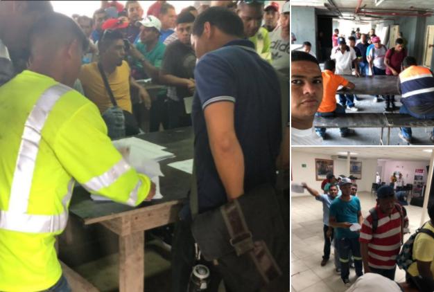 Suntracs inicia entrega de fondo de huelga a obreros a falta de acuerdo con Capac