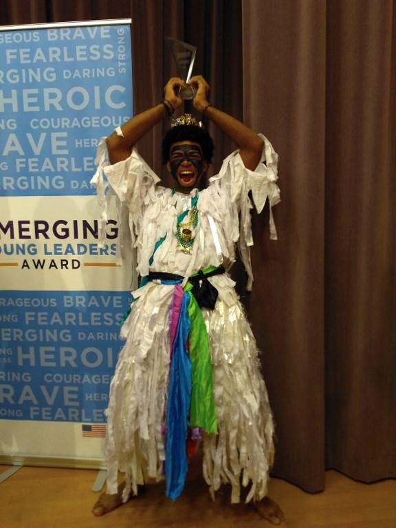 Jackson, el joven panameño que Estados Unidos premió por impulsar la educación