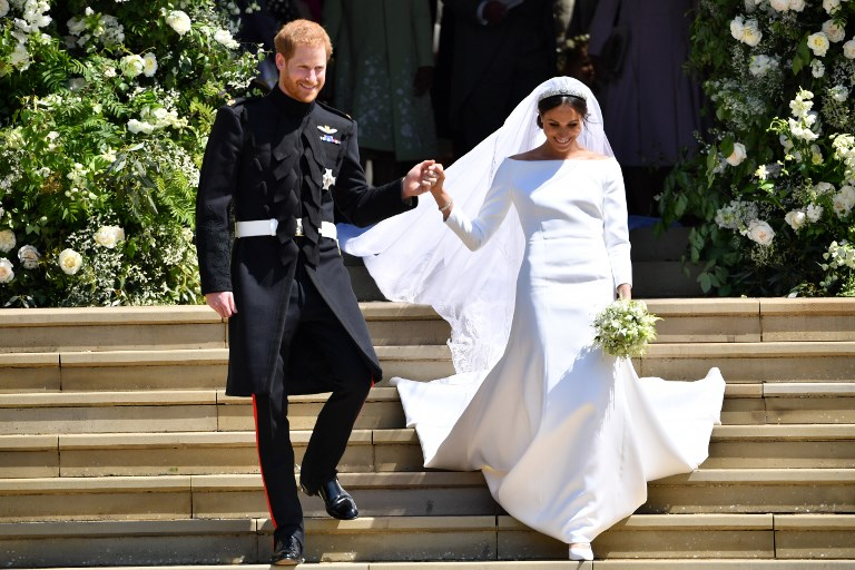 Los mejores vestidos de la boda real entre el príncipe Harry y Meghan Markle