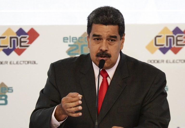 """Maduro ordena """"reforzar la vigilancia"""" de la embajada de EEUU en Caracas"""