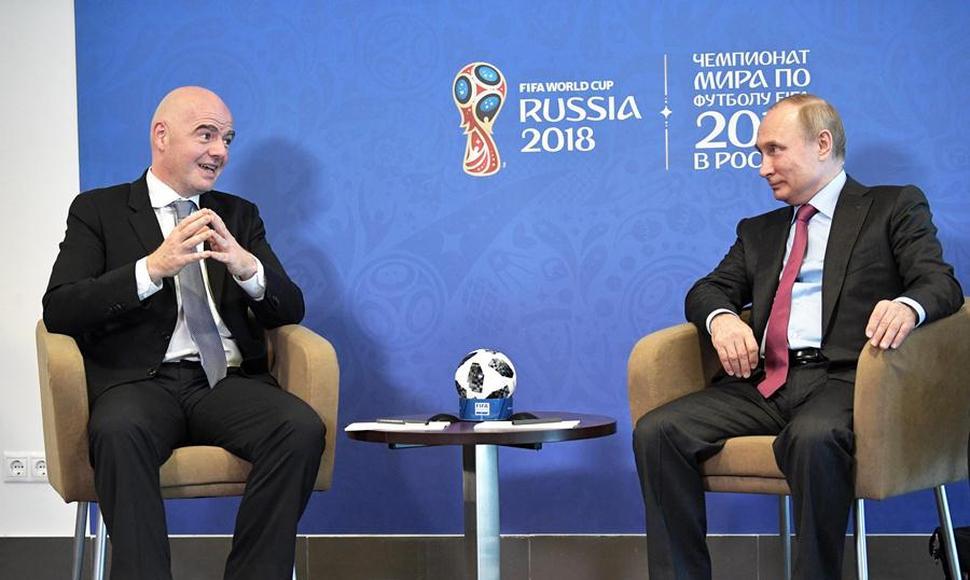 La FIFA multa a la Federación Rusa por gritos racistas en el Rusia-Francia