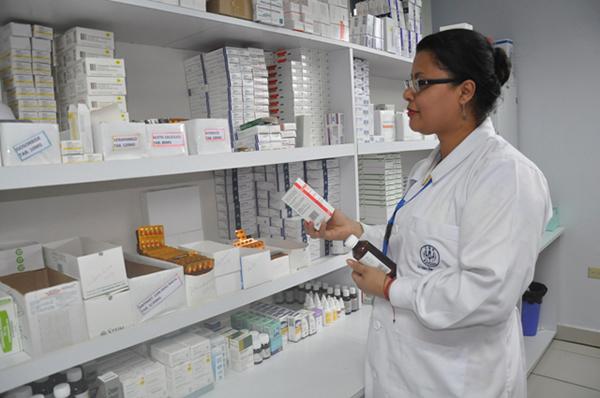 CSS distribuye medicamentos para tratamiento de psiquiatría, VIH y otros