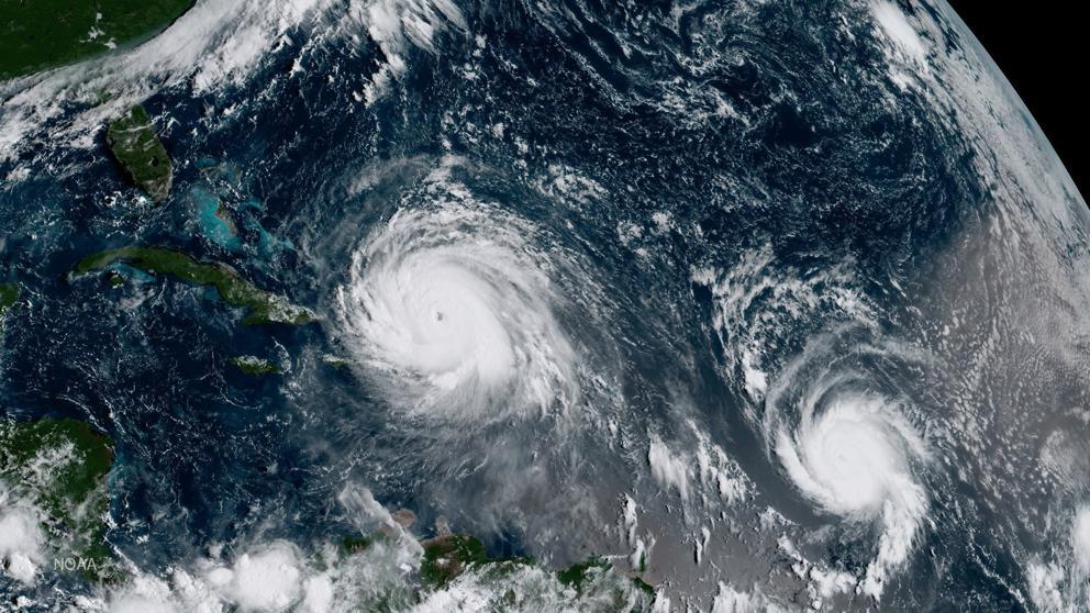 Habrá cinco a nueve huracanes en la temporada del Atlántico 2018