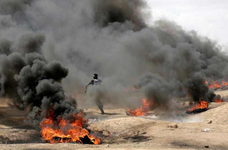 Al menos 37 palestinos muertos por disparos de soldados israelíes en Franja de Gaza