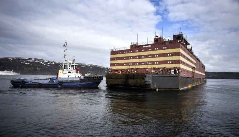 Rusia presenta la primera central nuclear flotante del mundo