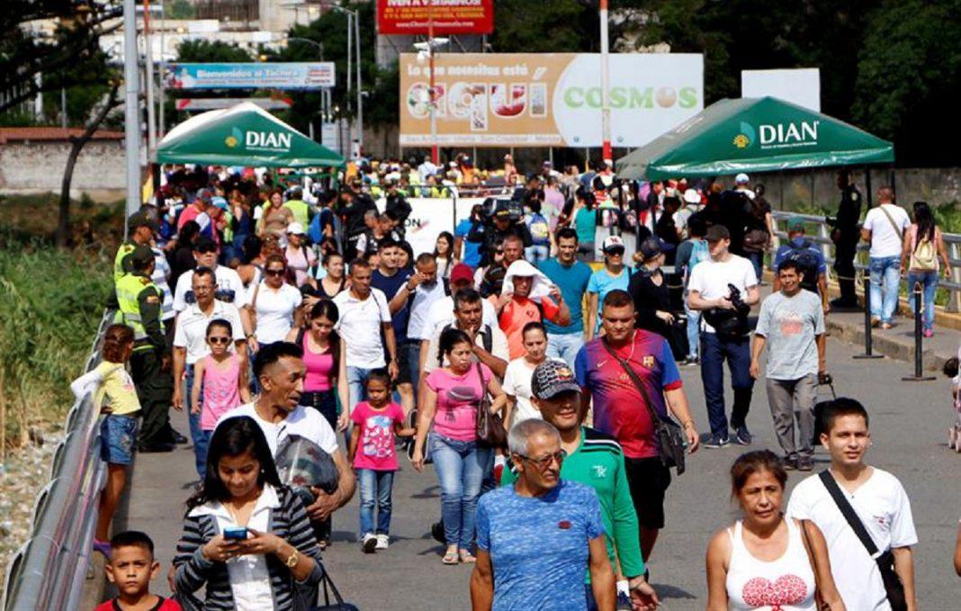 Un millón de personas ingresaron a Colombia por crisis en Venezuela, según la Cruz Roja