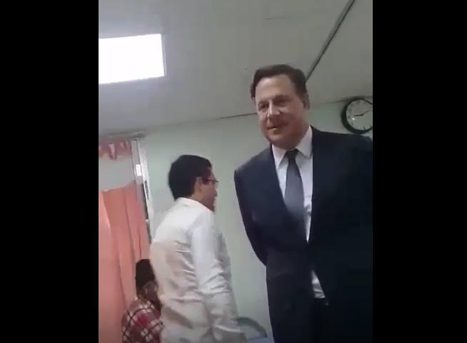 Paciente a Varela: bote a todos en el Seguro, lo están engañando