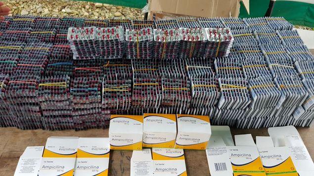 Decomisan cargamento de fármacos ilegales en Guna Yala