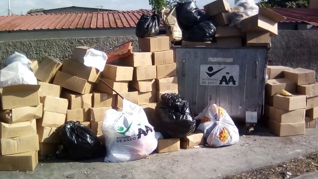 Autoridad de Aseo sanciona a 18 negocios por mala disposición de la basura