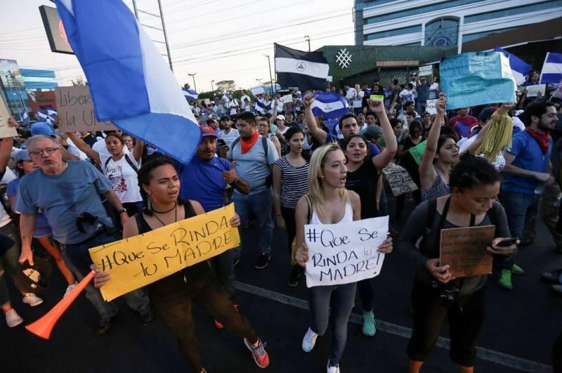 Nicaragüenses viven con terror por represión contra ola de protestas
