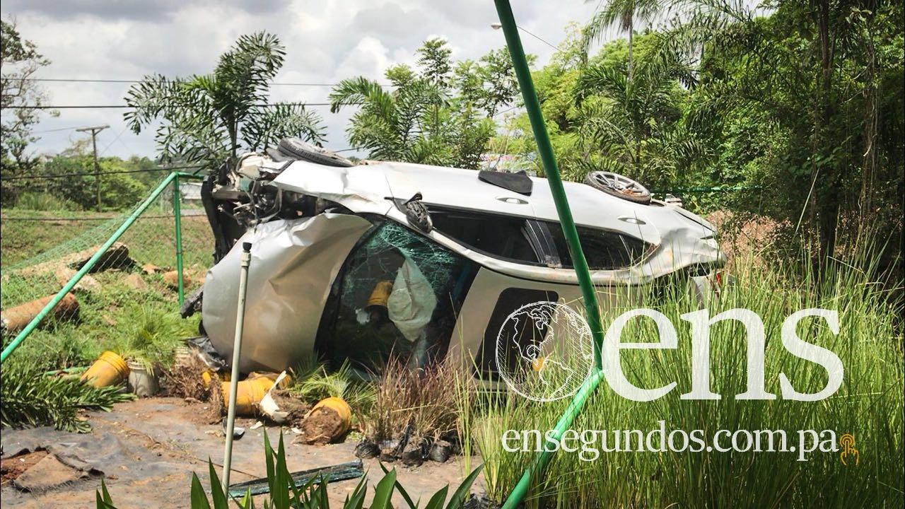 Carriles de la Interamericana estuvieron cerrados por 5 horas tras accidente en el Limón de La Chorrera