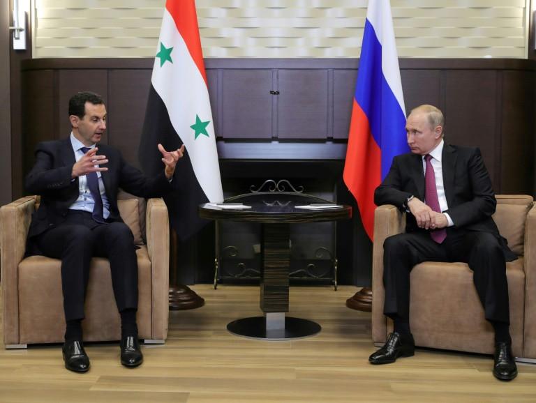 """Putin y Asad piden reanudación del """"diálogo político"""" en Siria"""