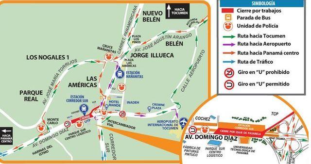 Mi Bus hará desvíos en rutas del Este por obras de Linea 2 del Metro