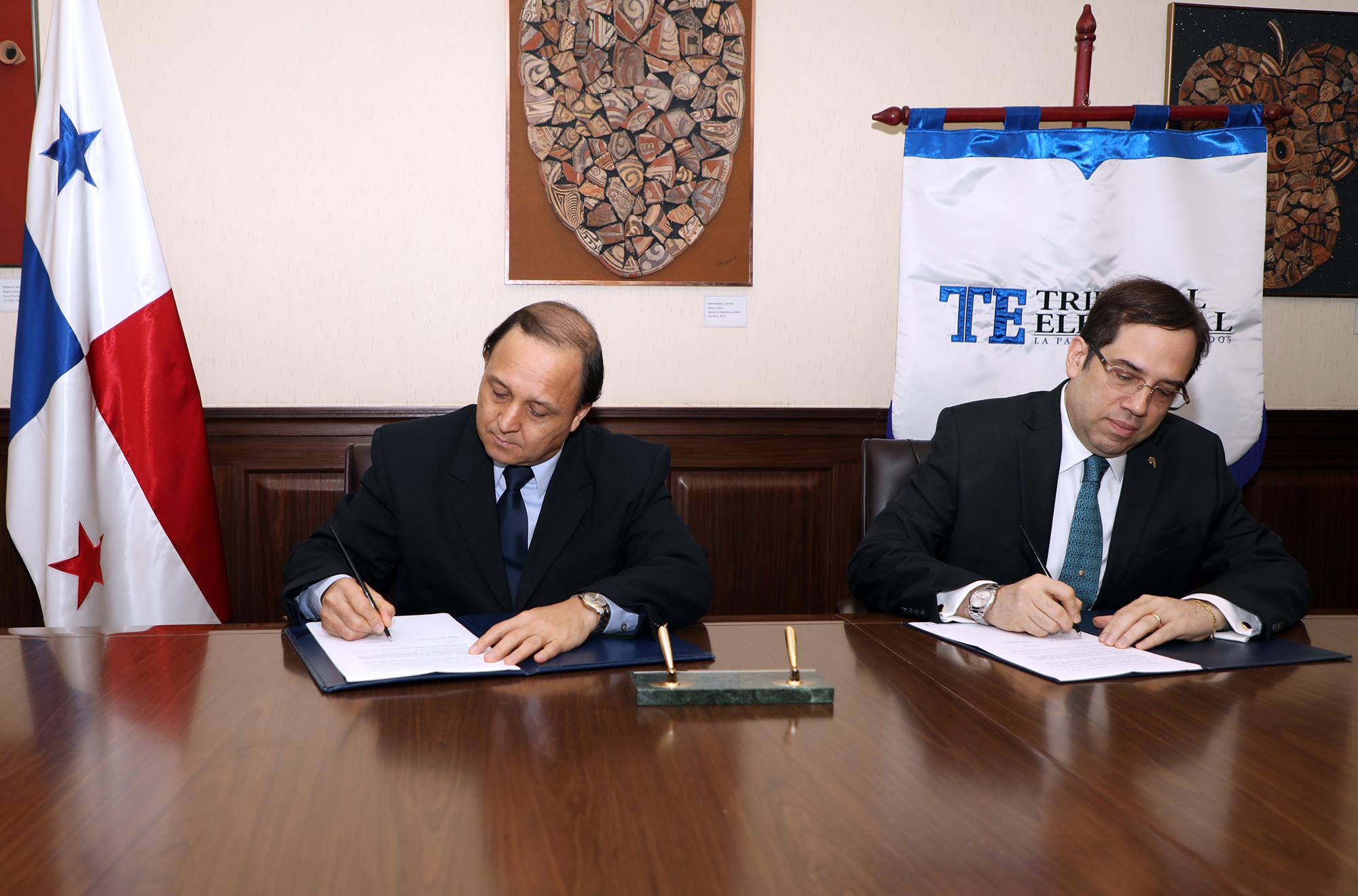 TE y BNP firman convenio para apertura y manejo de las cuentas de campañas