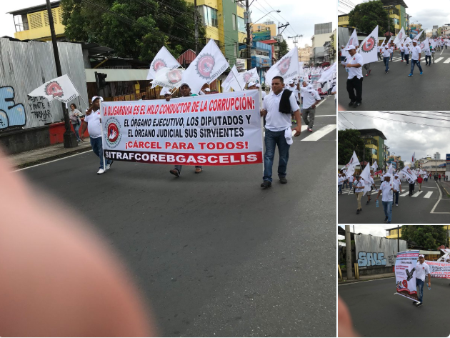 Panamá celebra el Día Internacional del Trabajo con una huelga en el sector construcción