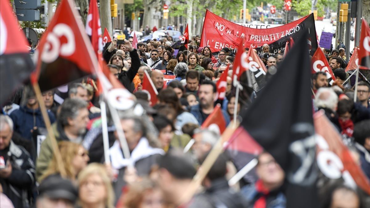 Las manifestaciones del 1 de mayo alrededor del mundo
