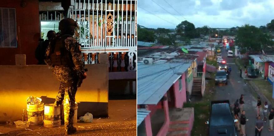 Aprehenden a 26 personas en operativo antipandillas en Colón