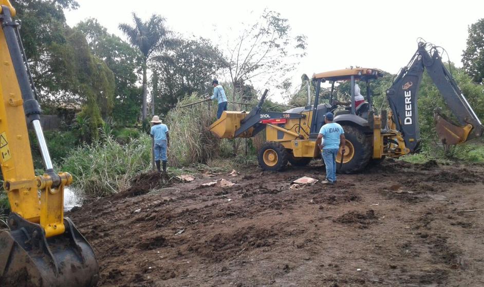 Idaan reanuda trabajos de reparación en tubería del río Matías Hernández