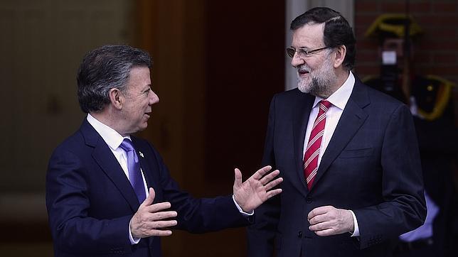 Santos y Rajoy pidieron una solución democrática para Venezuela