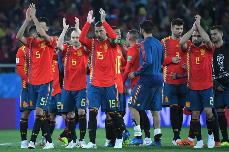 España jugará contra Rusia y Portugal con Uruguay en octavos