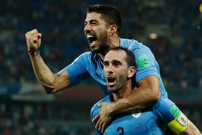 Uruguay venció 2-1 a Portugal y jugará contra Francia en cuartos