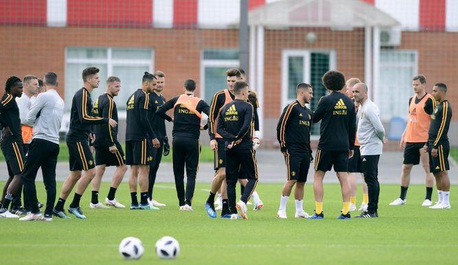 """Bélgica espera """"impaciente"""" su debut mundialista ante Panamá"""