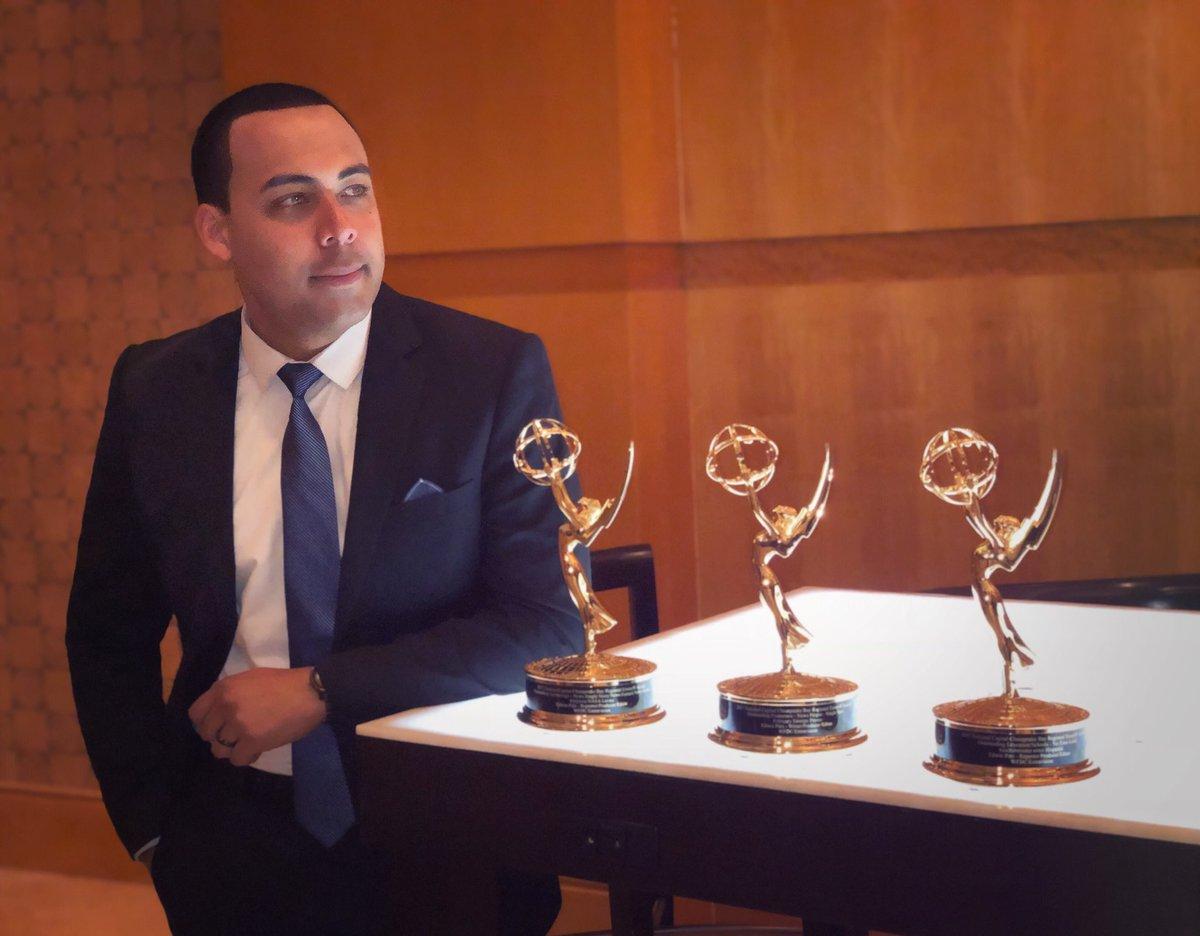 Periodista panameño Edwin Pitti, vuelve a ganar tres Emmys