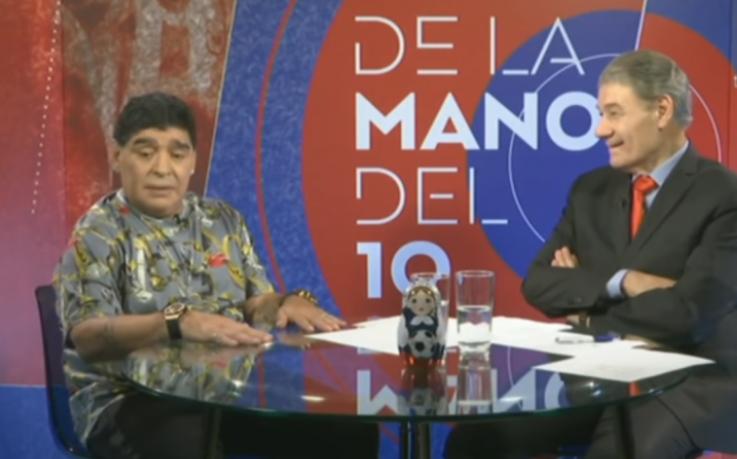 Maradona dice que Panamá entró por la ventana al Mundial Rusia-2018