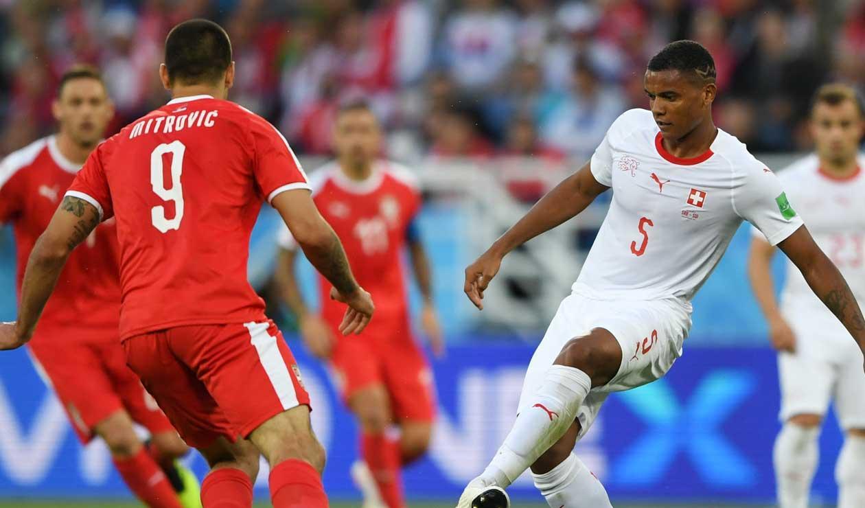 Suiza vence a Serbia por 2-1 y queda a un paso de octavos del Mundial