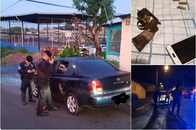 Policía Nacional aprehende a nueve delincuentes en operativo antipandillas en Cerro Cocobolo