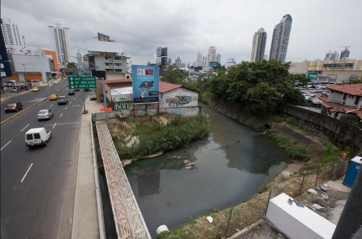 Sinaproc advierte que el río Matasnillo representa un riesgo ante posibles inundaciones