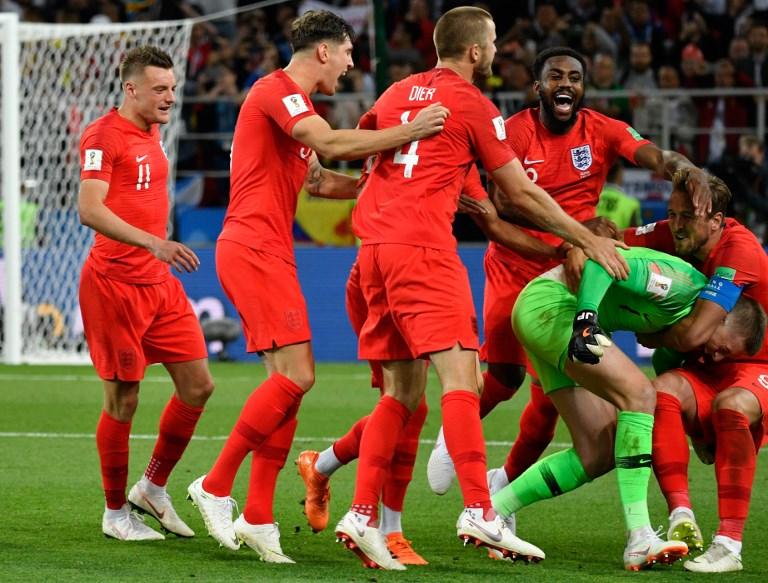 Inglaterra ganó a Colombia en penales 4-3 y jugará contra Suecia en cuartos de Rusia-2018