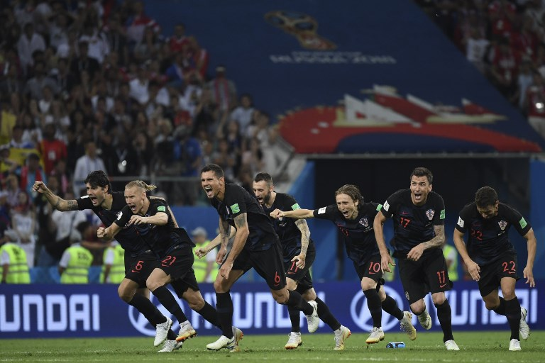 Croacia venció por 4-3 a Rusia en penales