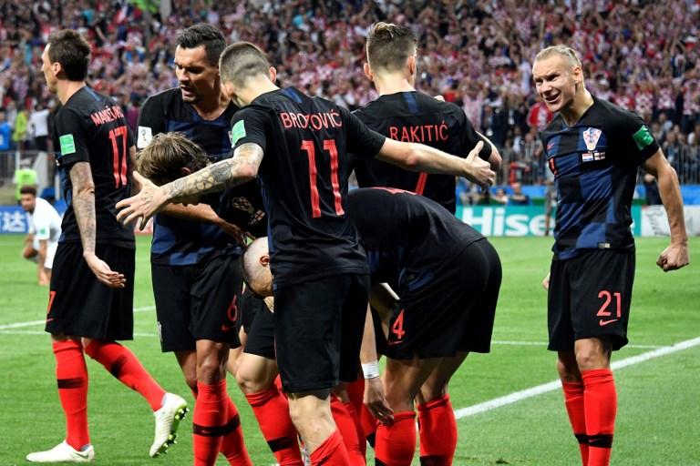 Croacia venció a Inglaterra 2-1 en alargue y jugará con Francia la final del Mundial