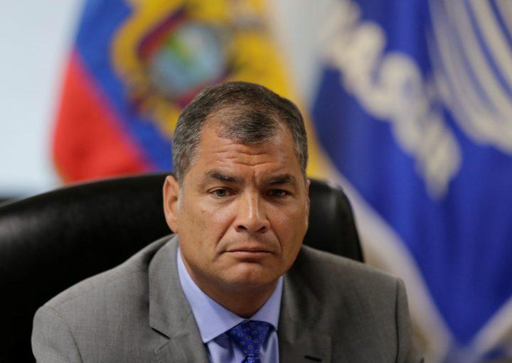 Justicia de Ecuador ratifica sentencia de cárcel para expresidente Correa