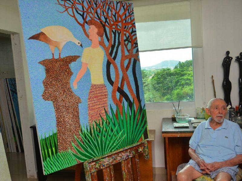 Fallece el pintor panameño Guillermo Trujillo