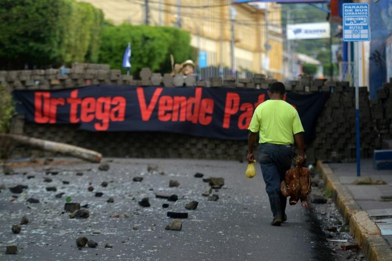Ciudad rebelde de Masaya bajo fuerte ataque de fuerzas gubernamentales en Nicaragua
