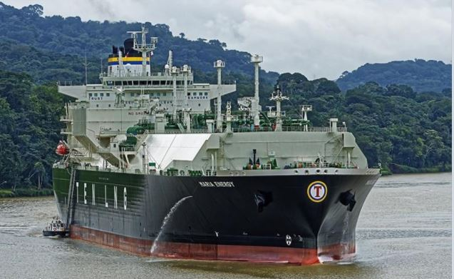Canal ampliado llega a su tránsito 4 mil con paso de buque Maria Energy