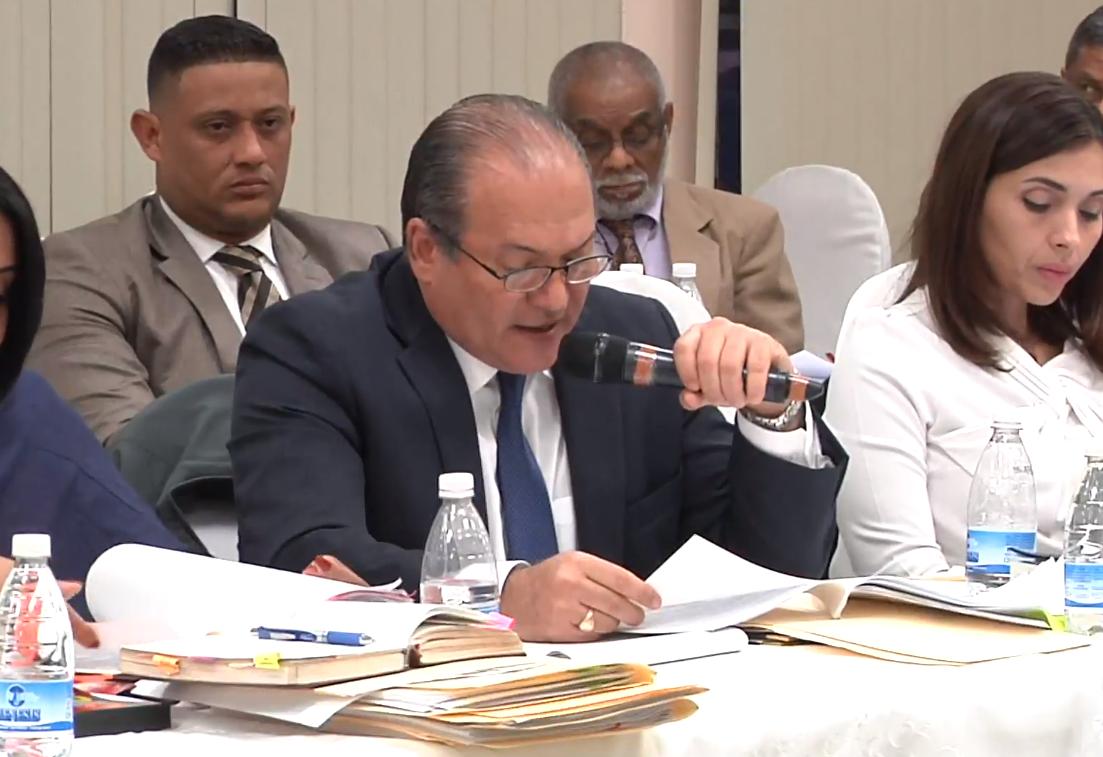 Magistrado Harry Díaz reconoce que su esposa donó a la campaña de Cortizo