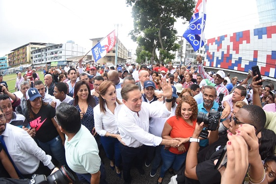Nito Cortizo inscribe su candidatura en las primarias del PRD