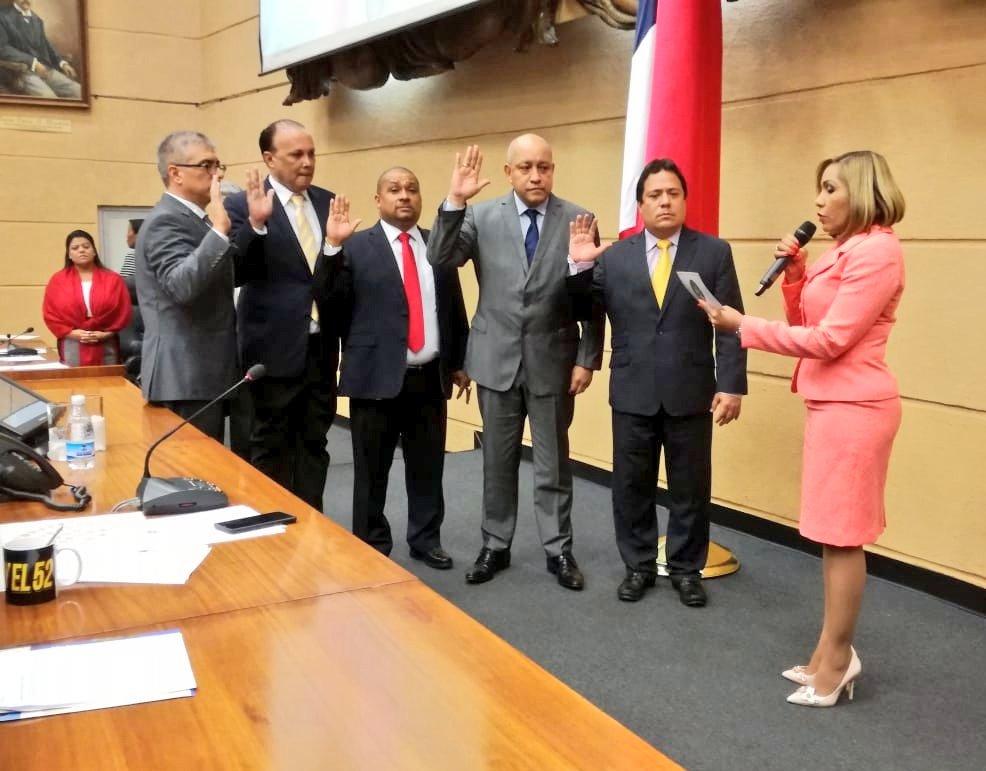 Escogen y juramentan miembros de las seis comisiones restantes de la Asamblea Nacional