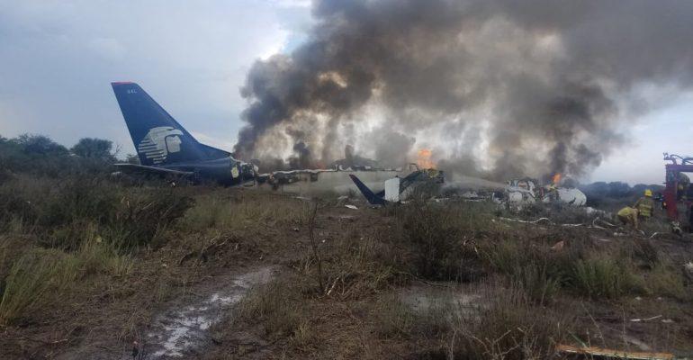 Accidente de avión de pasajeros en México no deja muertos