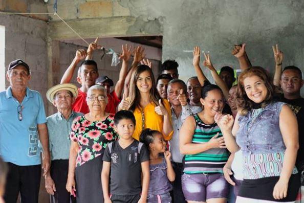 Génesis Arjona se postula como candidata a diputada por Cambio Democrático