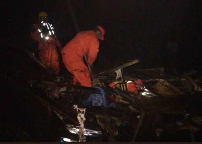 Dos muertos y tres heridos tras deslizamiento de tierra en Chiriquí