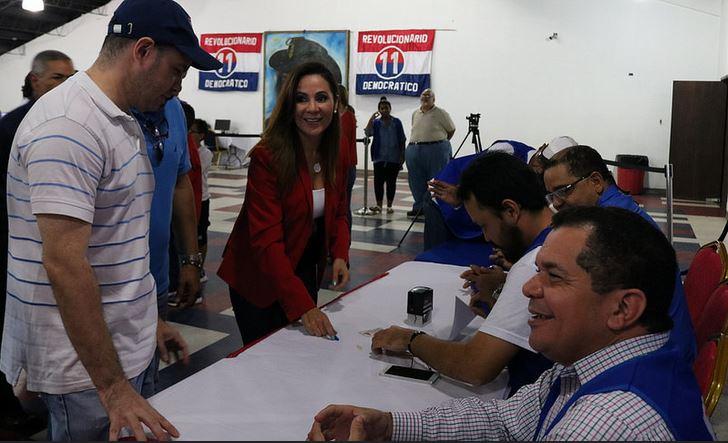 Hija del exgeneral Noriega se postula como candidata a representante por el PRD