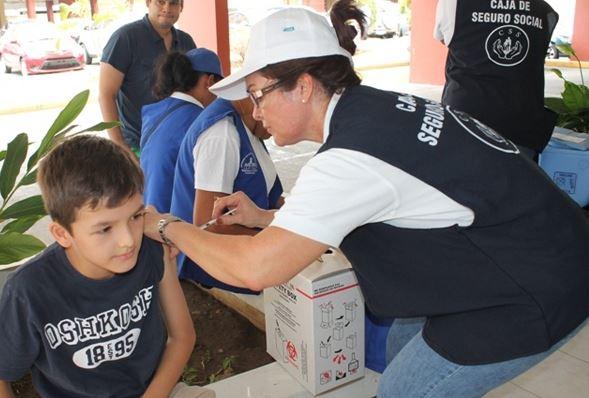 CSS insta a la población a vacunarse contra la influenza