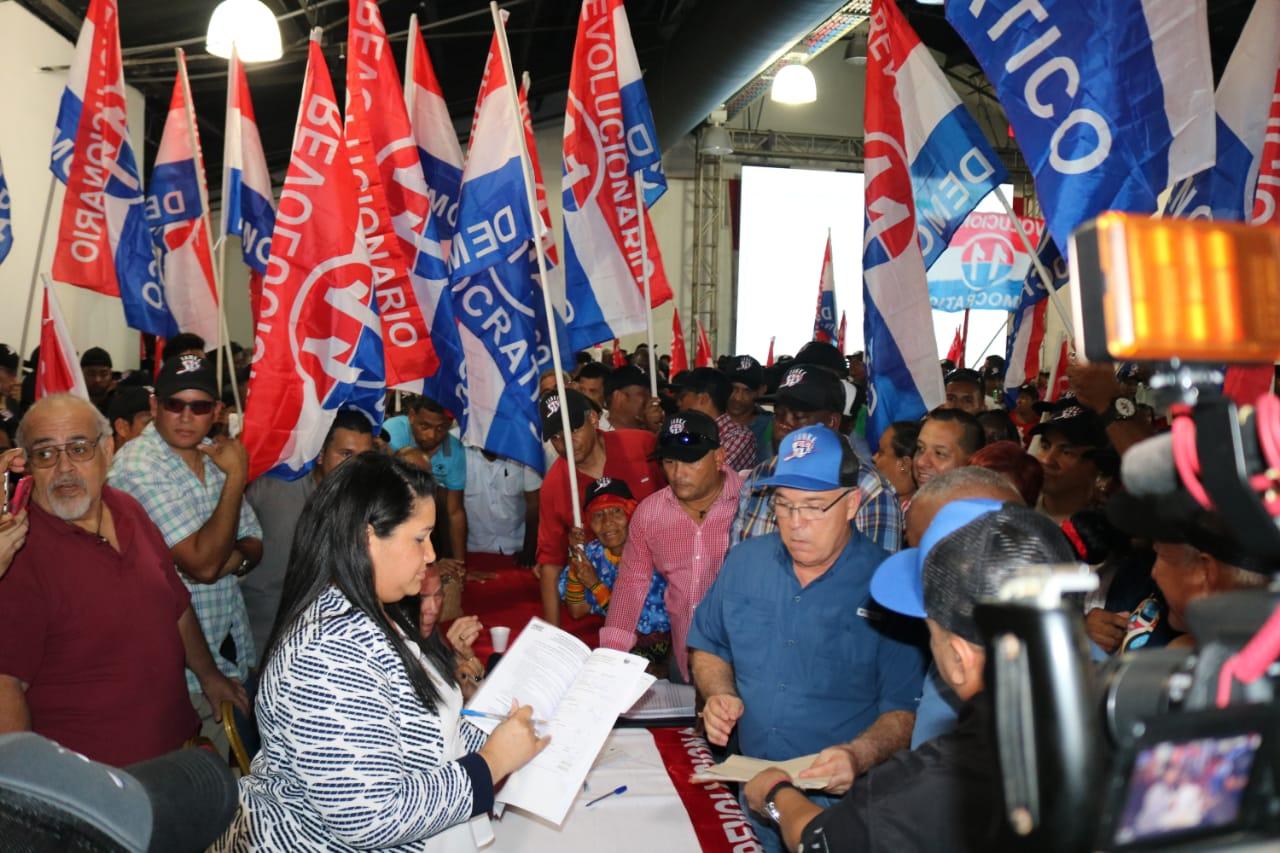 José Luis Fabrega se postula en el PRD como precandidato a la Alcaldía de Panamá