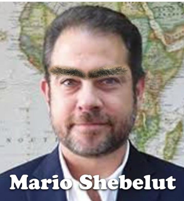 """Muchas gracias al ministro Mario ... """"¿Shebelut?"""""""