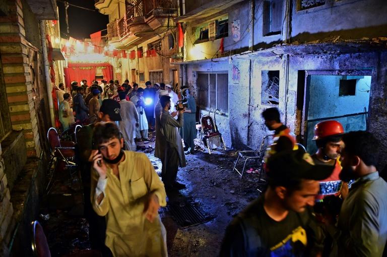 Al menos 12 muertos en atentado suicida durante un mitin electoral en Pakistán